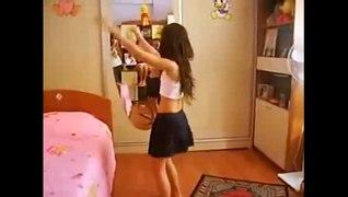 رقص شرقي مصري رقص منزلى خاص 2015 لل�