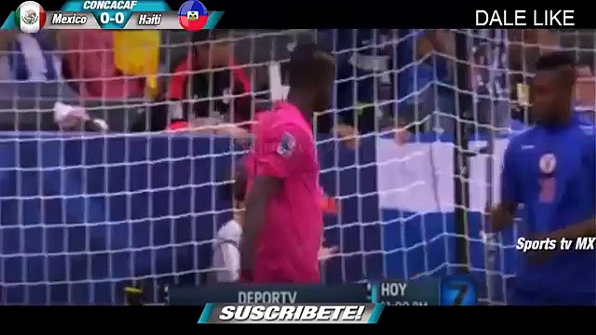 Mexico vs Haiti 1-0 GOL RESUMEN SUB 22 HD PREOLIMPICO 2015 TV Azteca