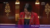 Allocution de Sylvia Pinel sur la politique des territoires lors du débat sur le projet de loi de finance 2016 à l'Assemblée Nationale