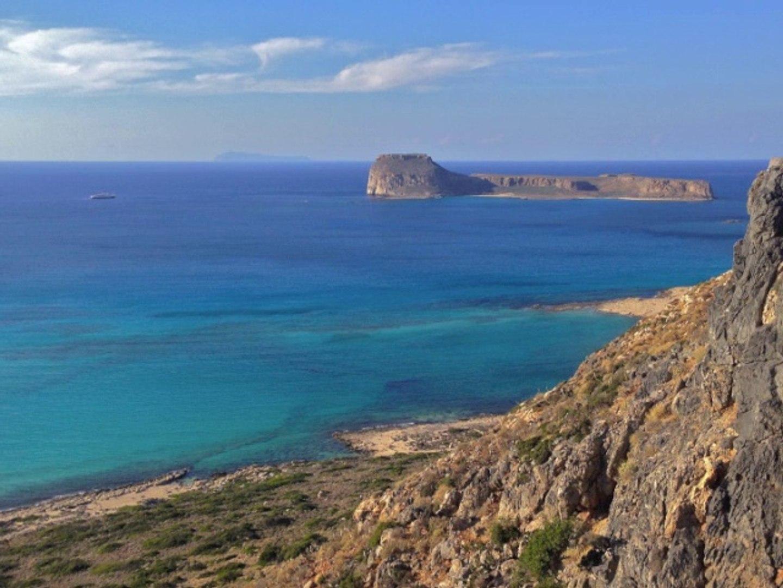 Coucher de soleil à Balos (Crète)