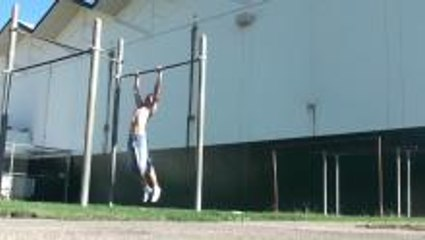 76 pull ups in a row