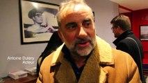 Ciné rencontre au cinéma le Vincennes avec Antoine Dulery et Marthe Villalonga pour La dernière leçon de P Pouzadoux