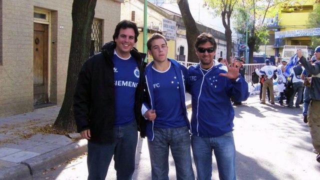 Bruno Vicintin conta sua relação com a torcida do Cruzeiro