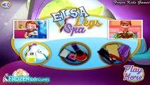 Frozen Games - Princess Elsa Beauty Legs Spa - Disney Frozen Games For Kids