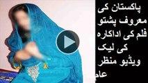پاکستان کی معروف پشتو فلم کی اداکارہ کی لیک �