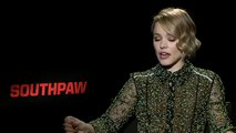 Rachel McAdams Interview Southpaw (2015)