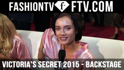 Victoria's Secret Show 2015 Backstage ft.Lily Donaldson & Monika Jagaciak | FTV.com