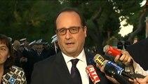 """""""Il faut éviter que les phénomènes migratoires créent des tensions"""" entre l'Europe et l'Afrique, dit Hollande"""