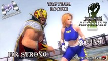 Dead or Alive Fight / Dead or Alive Assault - Tag Team Rookie - Mr. Strong & Tina (DOA5)