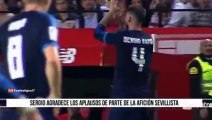 Sergio Ramos whistled & insulted by Sevilla fans 2015