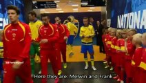 Zlatan Ibrahimovic and his favourite kids at Sweden ballon DOr award 2015