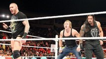 Roman Reigns, Dean Ambrose y Randy Orton unen Fuerzas contra La Familia Wyatt | Raw Español Latino ᴴᴰ