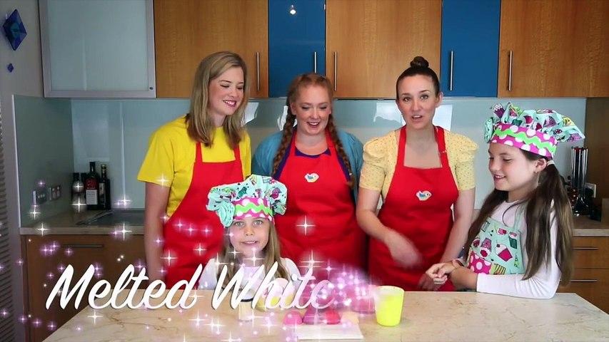 CUPCAKE MARSHMALLOW POPS Bounce Patrol kids & Charlis Crafty Kitchen baking