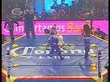 Los Mini Vipers (Mini Abismo Negro, Mini Histeria & Mini Psicosis) vs. Mascarita Sagrada, Mini Charly (AAA - 18.02.2010)