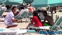 Panties Prank With Sexy Girls On The Beach ! PANTIES PRANK IN PUBLIC