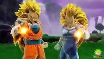 Dragon Ball Zenkai Battle: SSJ3 Vegeta & SSJ3 Goku Trailer