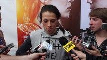 Joanna Jedrzejczyk respects Letourneau but not worried about anybody at 115 pounds