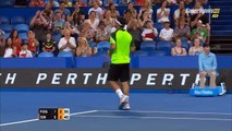 Fabio Fognini vs John Isner Hopman Cup 2015 Highlights HD