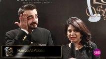 Lux Style Awards 2015 Backstage with Hamza Ali Abbasi -