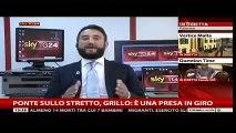 Giancarlo Cancelleri (M5S) a SkyTg24 - Ponte sullo Stretto di Messina - MoVimento 5 Stelle