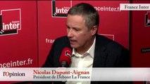 Migrants - Nicolas Dupont-Aignan : « Calais, c'est le symbole de l'inefficacité »