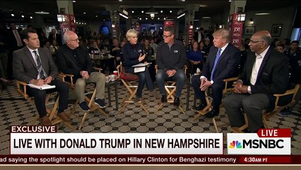 MORNİNG JOE Trump: I didn't attack my mom with a hammer