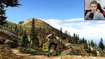 FUNNY SHOPPING CART STUNTS!  - (GTA 5 Mods Funny Moments)