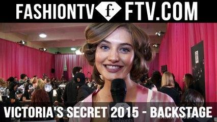 Victoria's Secret Show 2015 Backstage ft Isabelle Goulard & Sanne Vloet | FTV.com