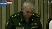 Les plans d'une arme nucléaire secrète russe à la télévision