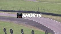 Drifting: Supercharged BMW M3 E92 LibertyWalk hard drifting at Lydden Hill