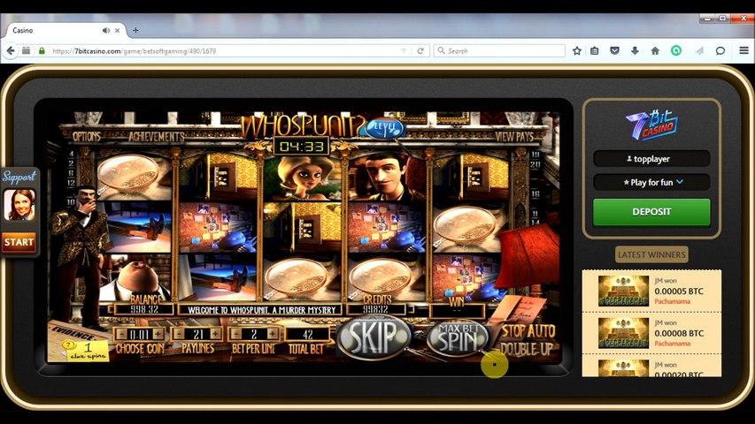 7bit casino - comment s'inscrire, déposer des bitcoins et obtenir un bonus
