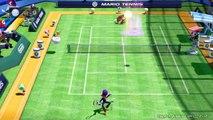 Mario Tennis: Ultra Smash - Mega Ball Rally Gameplay (60fps)