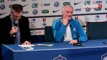 France - Allemagne. Didier Deschamps et le sketch du «plan B»