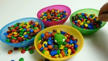 parents M&M's Surprise Toys Hide & Seek - Angry Birds, Frozen Olaf, Filly & Peppa Pig Toys Play