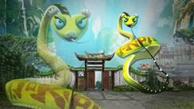 Finger Family Children Nursery Rhymes Kung Fu Panda Cartoons _ Finger Family Nursery Rhymes