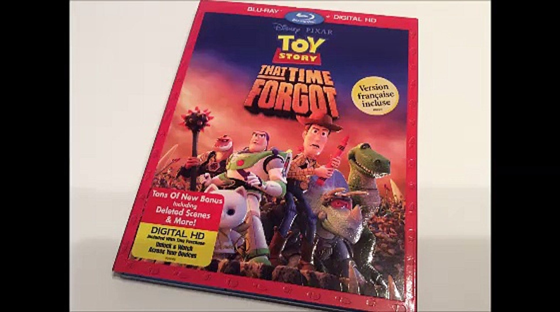 Critique Blu-ray Toy Story That Time ForgotCritique Blu-ray Toy Story That Time Forgot par Sébastien