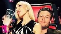 Gwen Stefani & Blake Shelton Flirting Interrupted By Adam Levine On The Voice