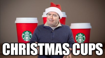 THE STARBUCKS CHRISTMAS CUPS SONG (#REDCUPS)