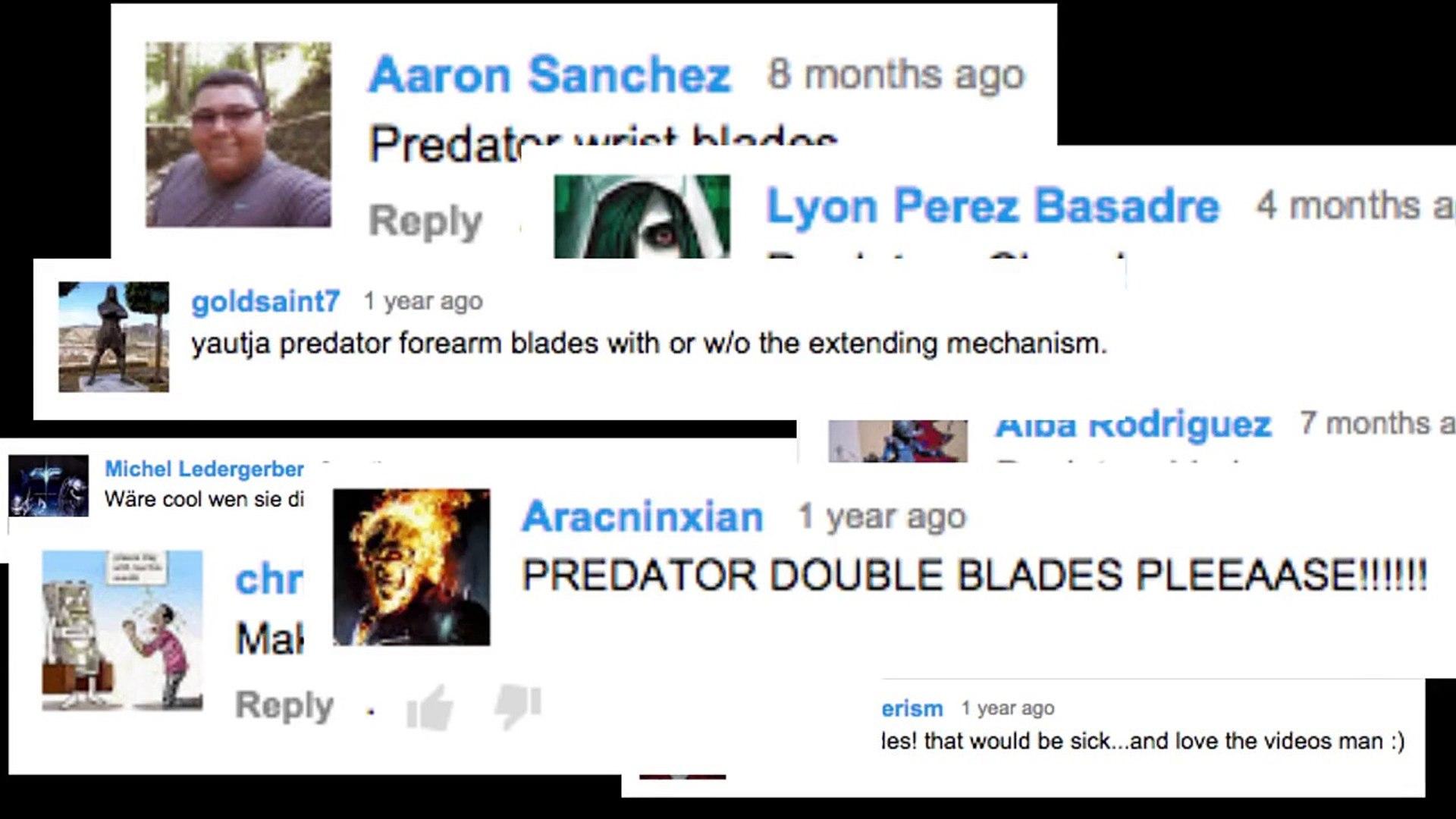 Predator Blades (Alien vs  Predator) - MAN AT ARMS: REFORGED