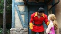 11 Year Old Girl Challenges Gaston To Arm Wrestle  and Wins