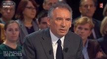 """François Bayrou : """"En 2017, je serai là et je prendrai mes responsabilités"""""""