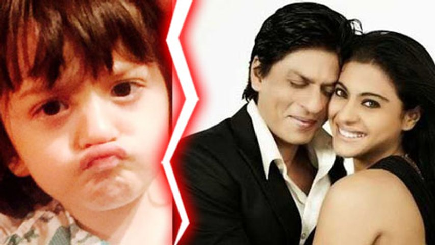 SHOCKING! AbRam Doesn't Like Shahrukh Khan Being Paired with Kajol