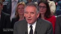 François Bayrou était pessimiste dès le début pour le mandat de François Hollande