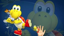 Finger Family Rhymes Super Mario Cartoons Games _ Super Mario Finger Family Children Nursery Rhymes
