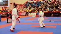 Finale Monde Junior 2015 / A. Merienne (FRA) - E. Gonzalez (MEX)