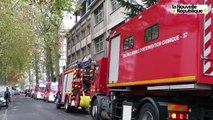 VIDEO. Tours : évacuation d'une centaine de personnes des locaux de l'AFPP, boulevard Preuilly à Tours