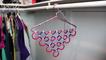 Easy And HomeMade Hanger Wardrobe Organizer - Diy Homemade things Point