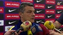 Balonmano: Xavi Pascual y Lazarov, previa FCB Lassa-Vardar [ESP]