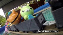 Thomas The Tank Trackmaster Pool Tracks Octonauts Shark Attack Train Wreck Adventure