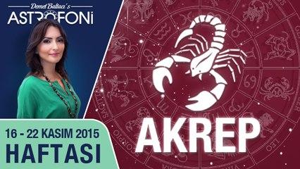AKREP haftalık yorumu 16-22 Kasım 2015